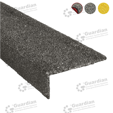 Product photo: Fibreglass (30x70x3) with D/S Tape - Black [FBR-7030-BK-DST]