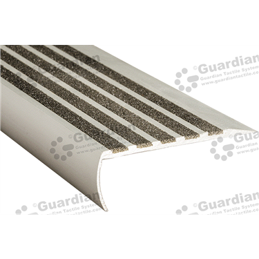 Bullnose Ramp Back Nosing - 5x Infill 37x98mm - Black [GSN-02BR5-BK]