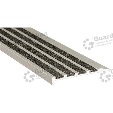 Slimline Ramp Back Nosing - 4x Infill 10x75mm - Black [GSN-02SR4-BK]