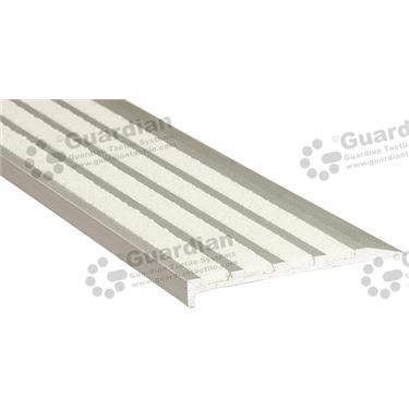 Slimline Ramp Back Nosing - 4x Infill 10x75mm - Ivory (White) [GSN-02SR4-IV]