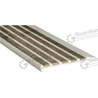 Slimline Ramp Back Nosing - 5x Infill 10x91mm - Black [GSN-02SR5-BK]