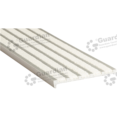 Product photo: Slimline Recessed Nosing - 5x Infill 10x75x5mm - Ivory (White) [GSN-02SS5-IV]