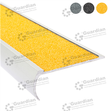 Aluminium Bullnose - Yellow Carbide [GSN-BNR-CYL]
