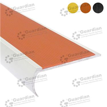 Product photo: Aluminium Bullnose - Terracotta Polyurethane [GSN-BNR-PTR]