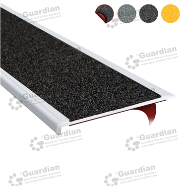 Product photo: Aluminium Slimline - Black Carbide with D/S Tape [GSN-SLR-CBK-DST]