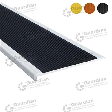 Aluminium Slimline - Black Polyurethane [GSN-SLR-PBK]