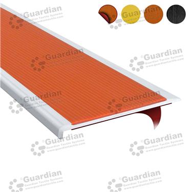 Product photo: Aluminium Slimline - Terracotta Polyurethane with D/S Tape [GSN-SLR-PTR-DST]