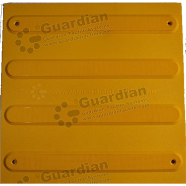 Product photo: Directional Tactile (Mechanically Fixed) 400x400 - Yellow [GTS4DSF-YL]