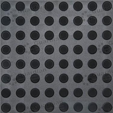 Product photo: Warning Tactile 400x400 - Black [GTS4W-BK]